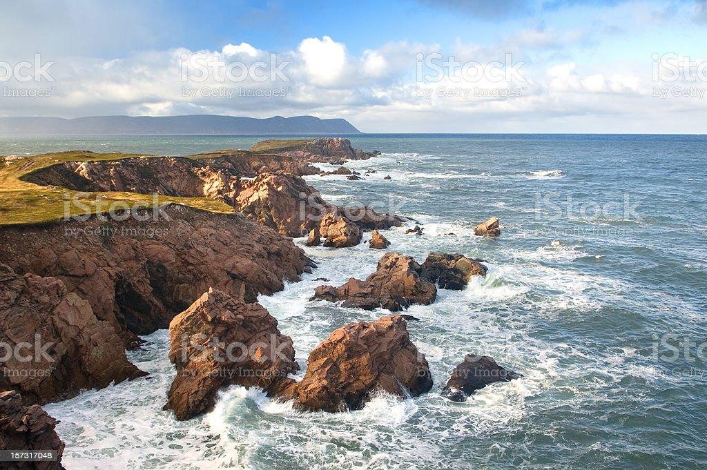 Scenic Coastline stock photo