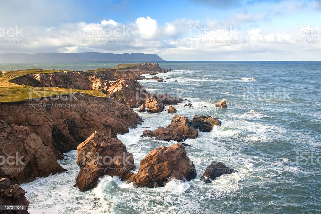 Scenic Coastline stock photo