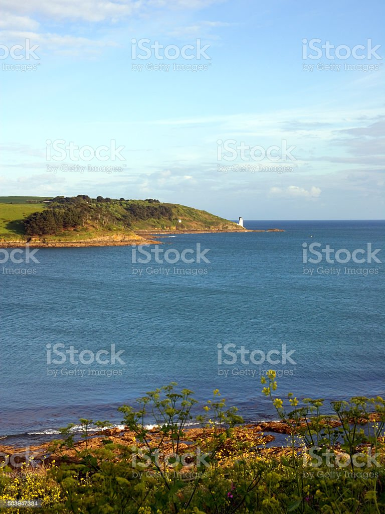 Scenic Cornwall, St Mawes stock photo