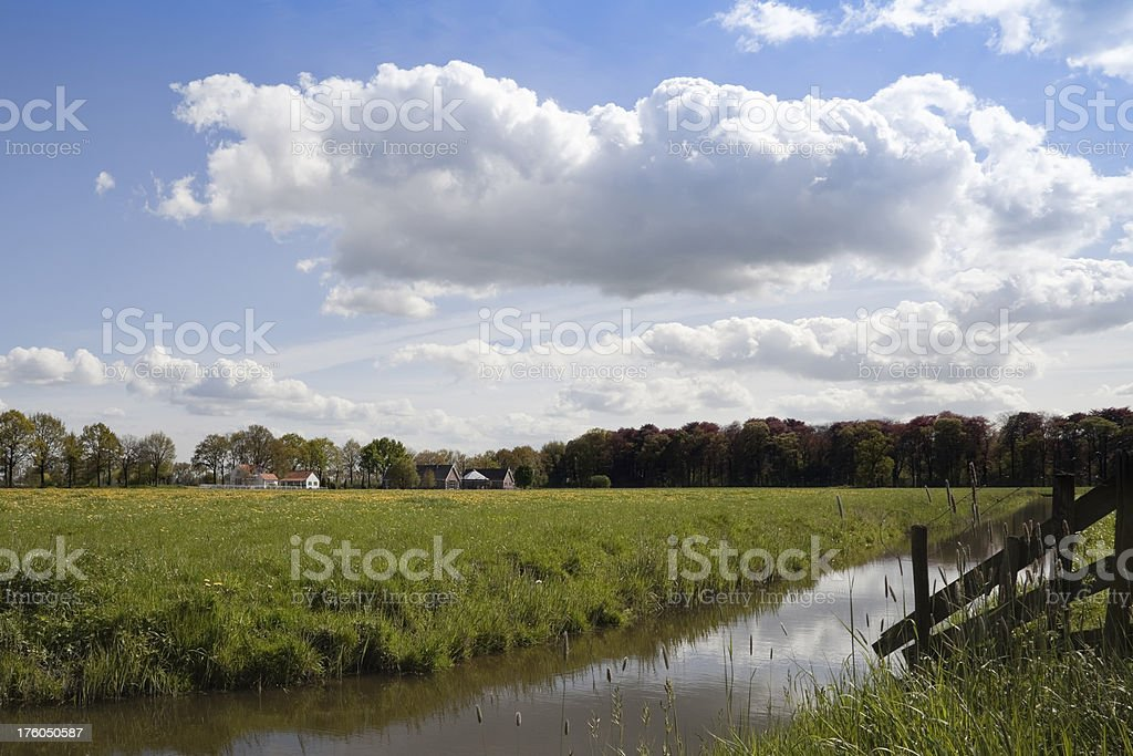 Scenic Country Landscape (XXL) royalty-free stock photo