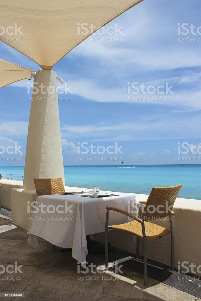 Scenic Dining royalty-free stock photo