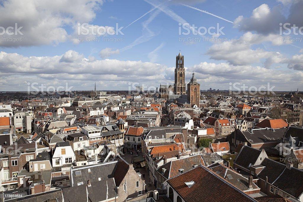 Scenic Dutch Cityscape (XXXL) stock photo