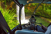 Scenic flight Manawaiopuna Falls