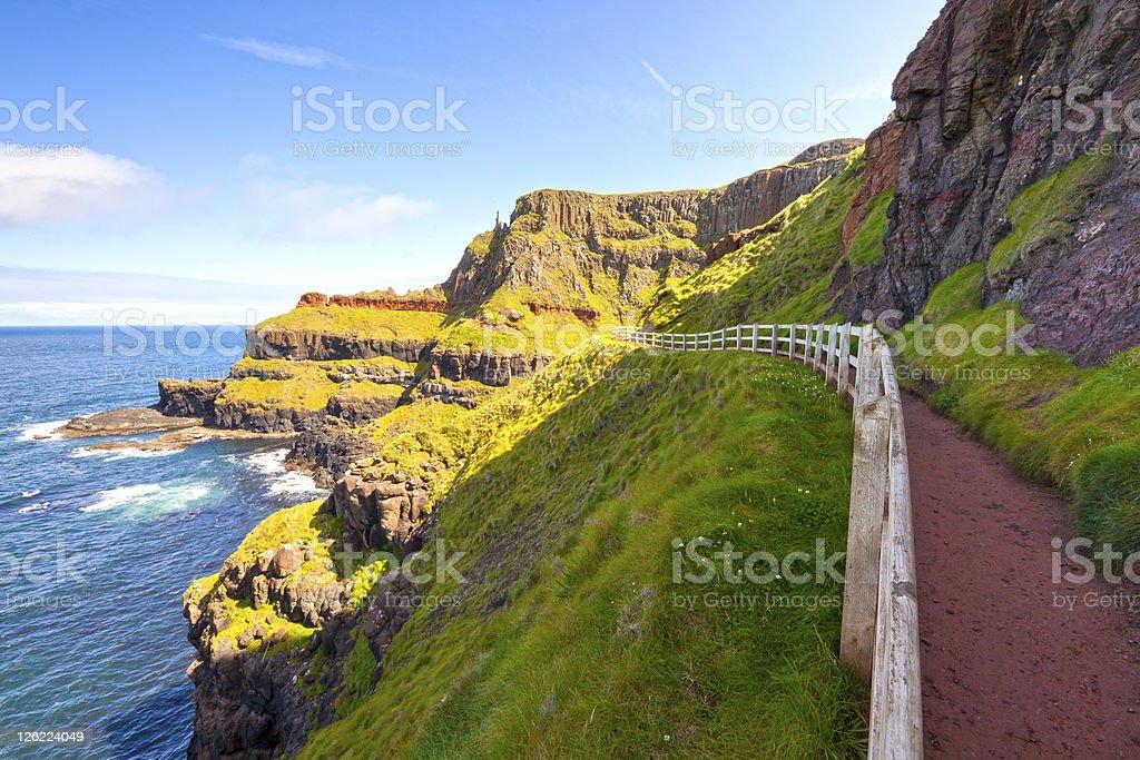Scenic Footpath stock photo