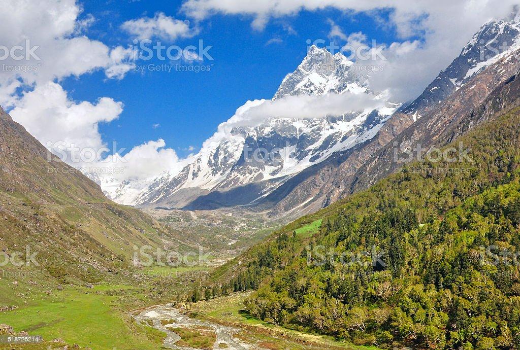 Scenic Himalaya stock photo