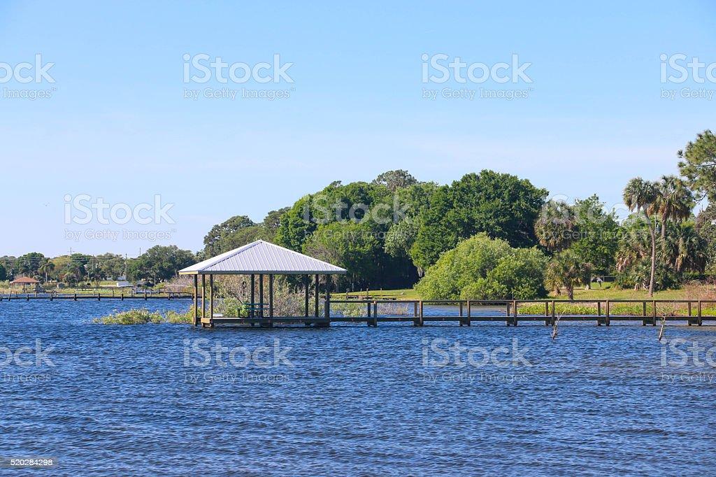 Scenic Lake Jackson - Florida stock photo