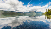 Scenic Lake McDonald Reflections Glacier National Park Montana