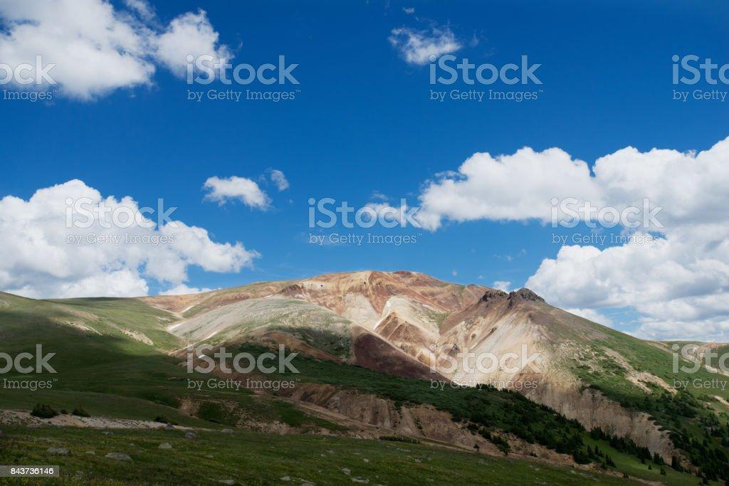 Scenic Landscapes Taken in Uncompahgre Wilderness Area, Colorado. stock photo