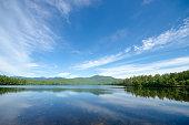 Scenic Mountain Lake View