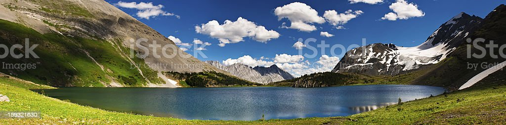 Scenic Mountain Views Kananaskis Country Alberta Canada stock photo