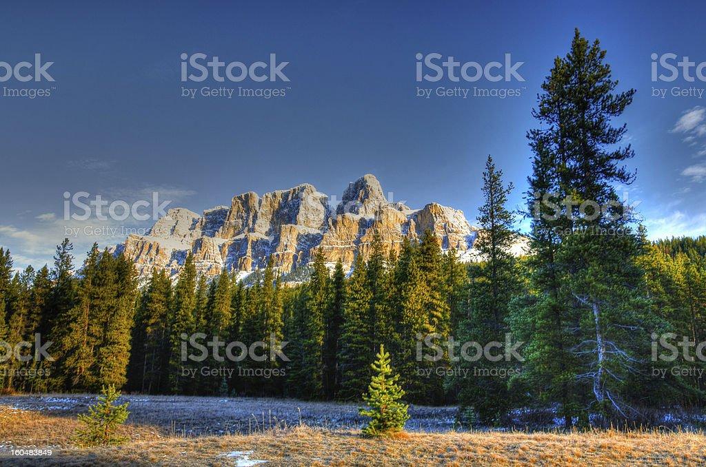 Scenic Mountain Views royalty-free stock photo