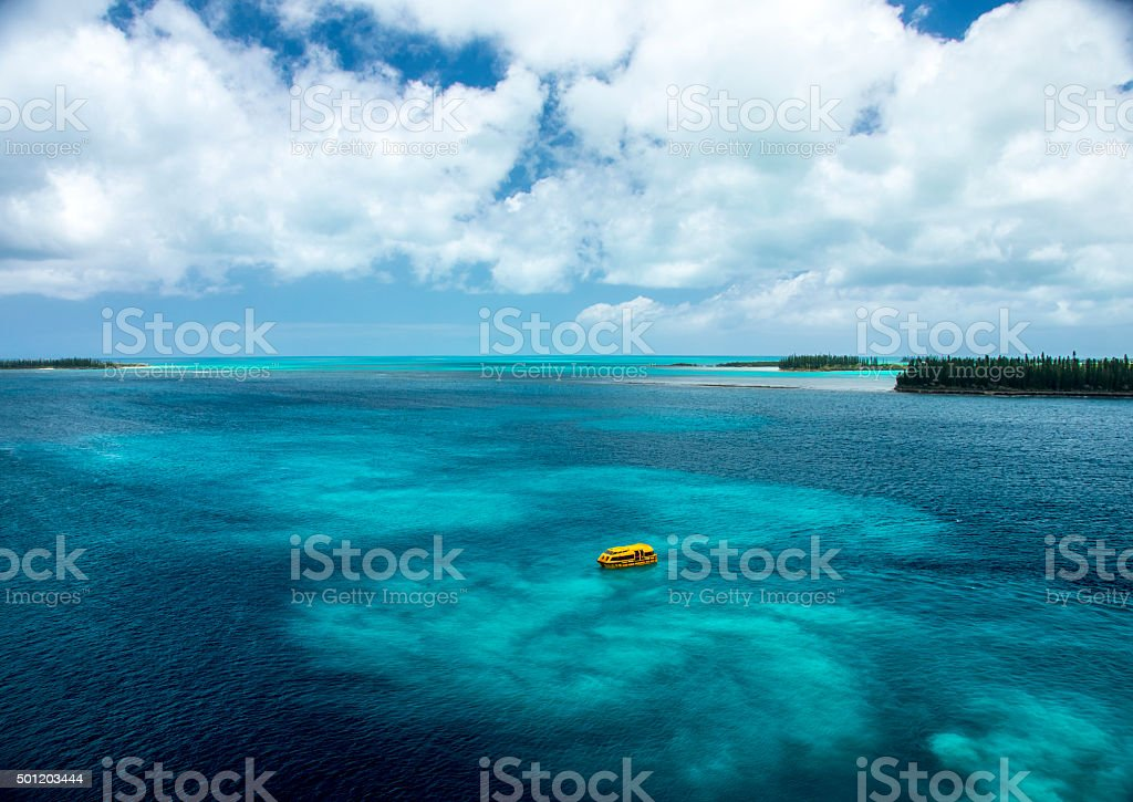 Scenic Ocean View stock photo