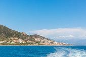 Scenic of Bastia,Corsica.