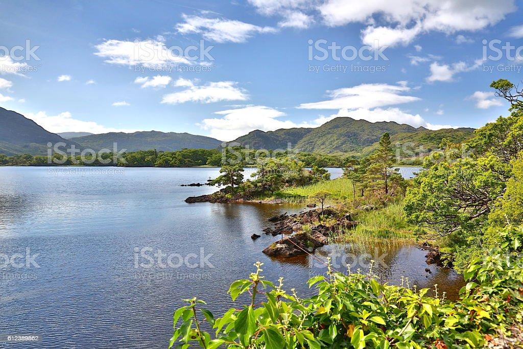 Scenic of Killarney National Park, Ireland stock photo