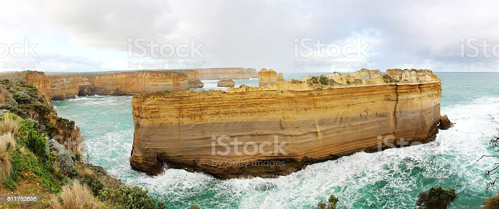 Scenic Port Campbell National Park stock photo