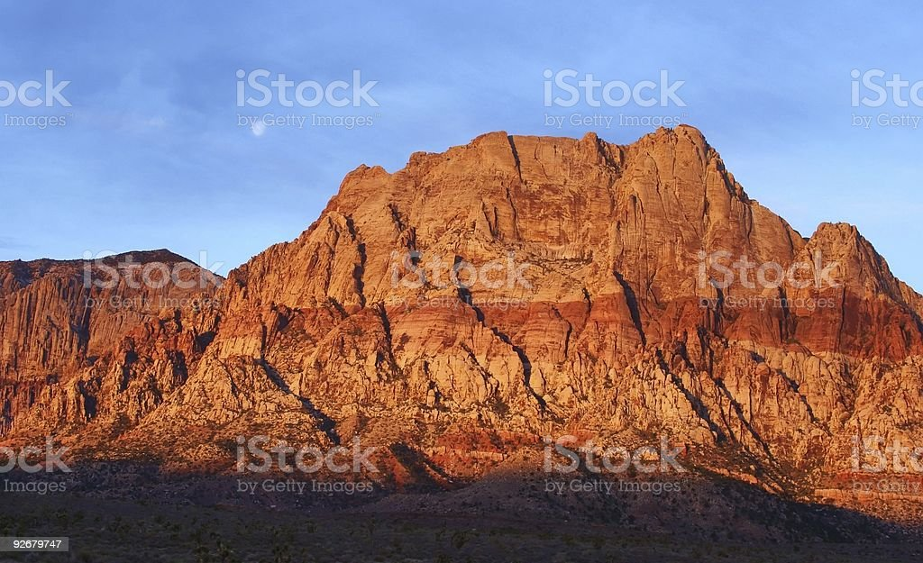 Scenic Red Rock Canyon royalty-free stock photo