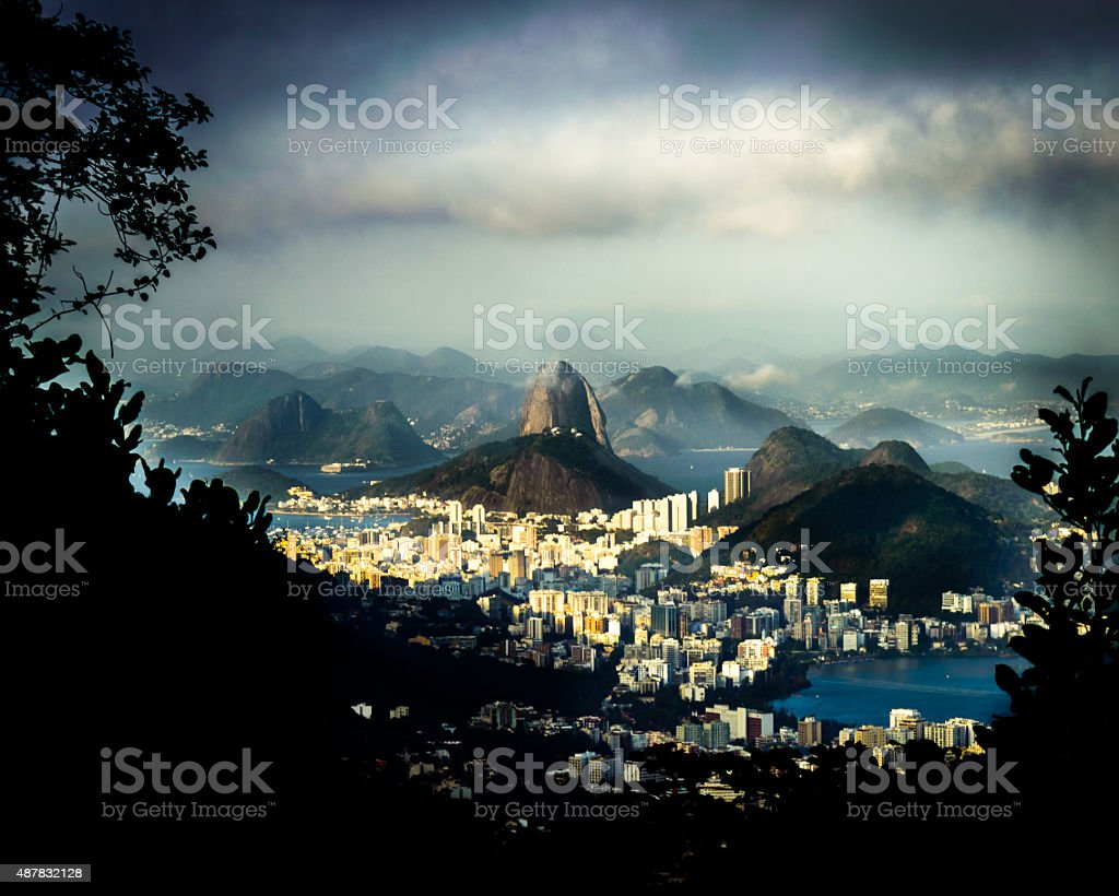 Scenic Rio de Janeiro Brazil stock photo