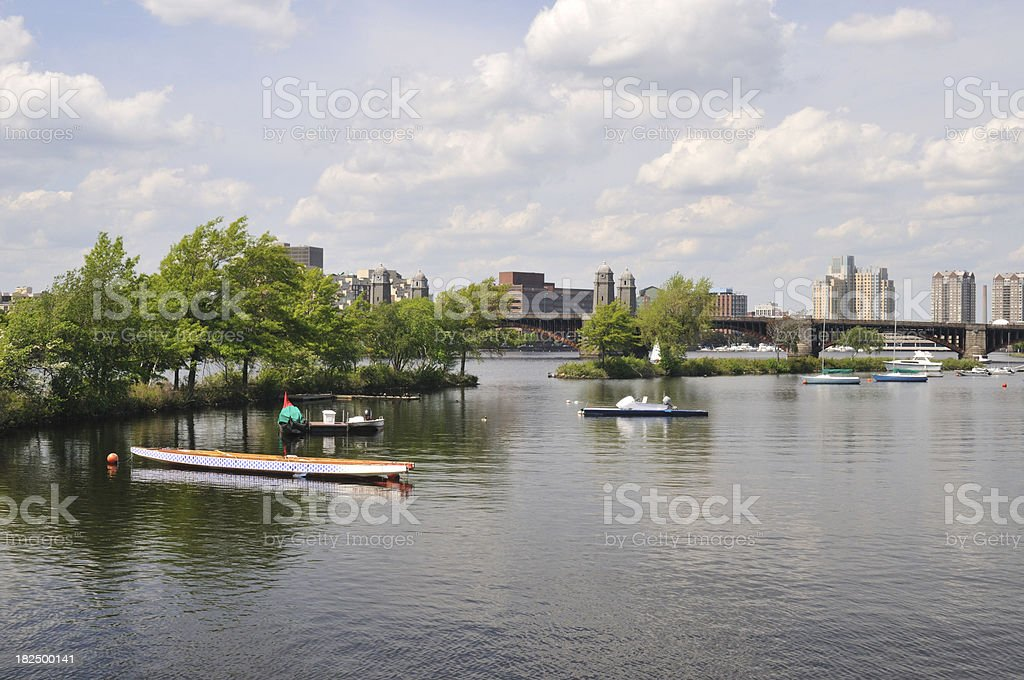 Scenic River royalty-free stock photo