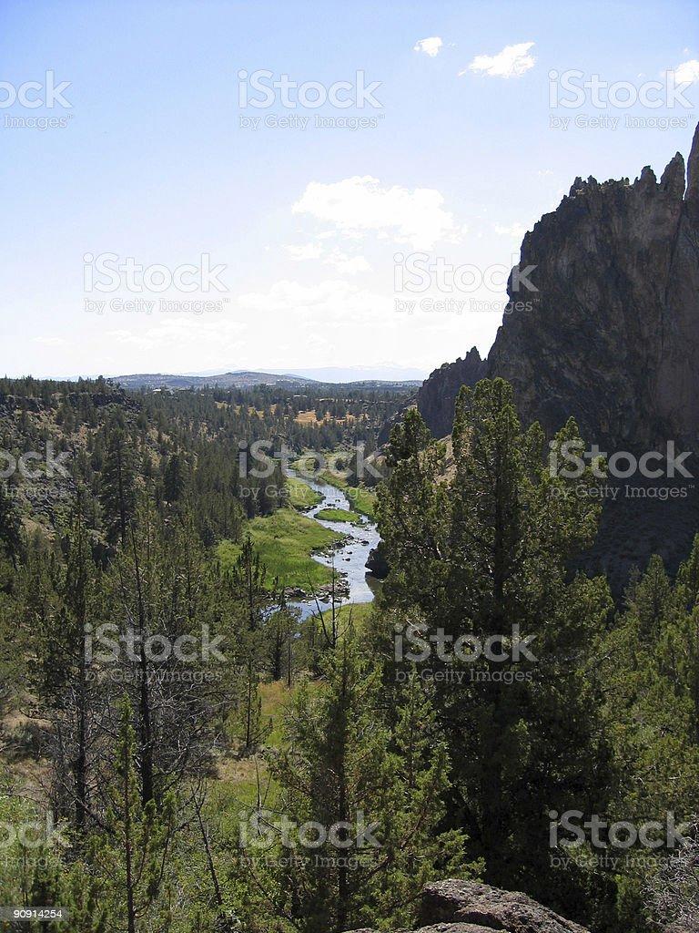 Scenic River View stock photo