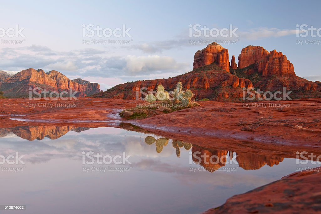 Scenic Sedona Arizona stock photo