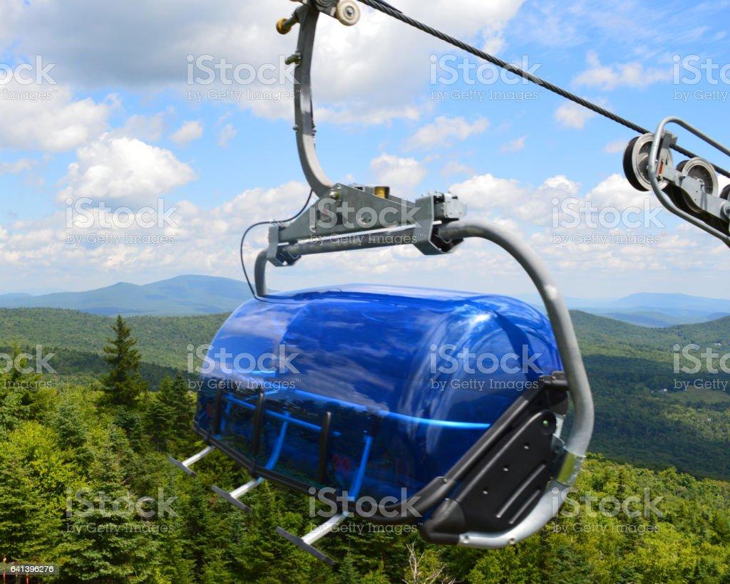 Scenic Ski Lift stock photo