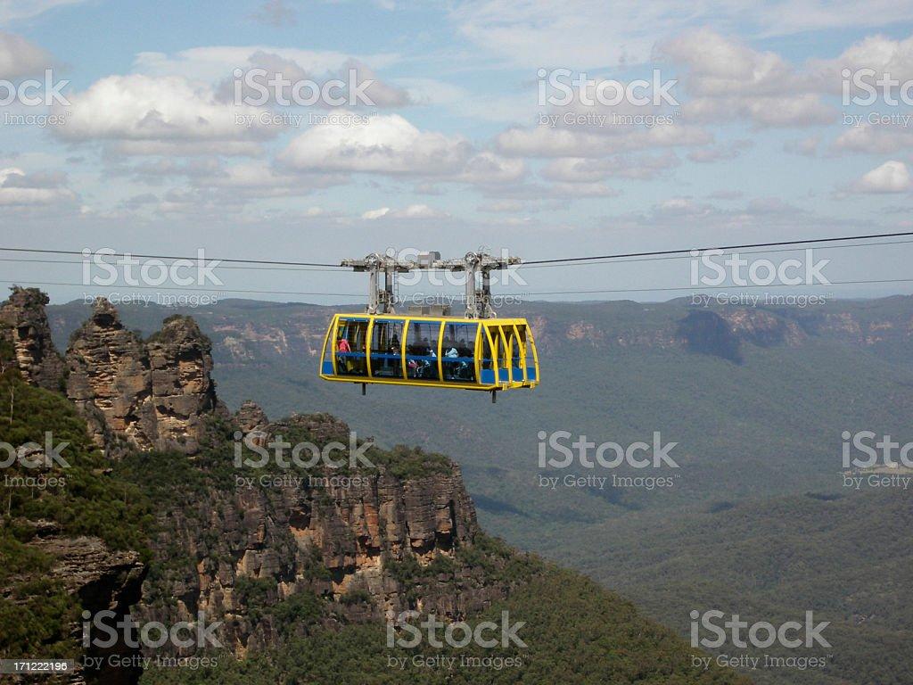Scenic Skyway stock photo