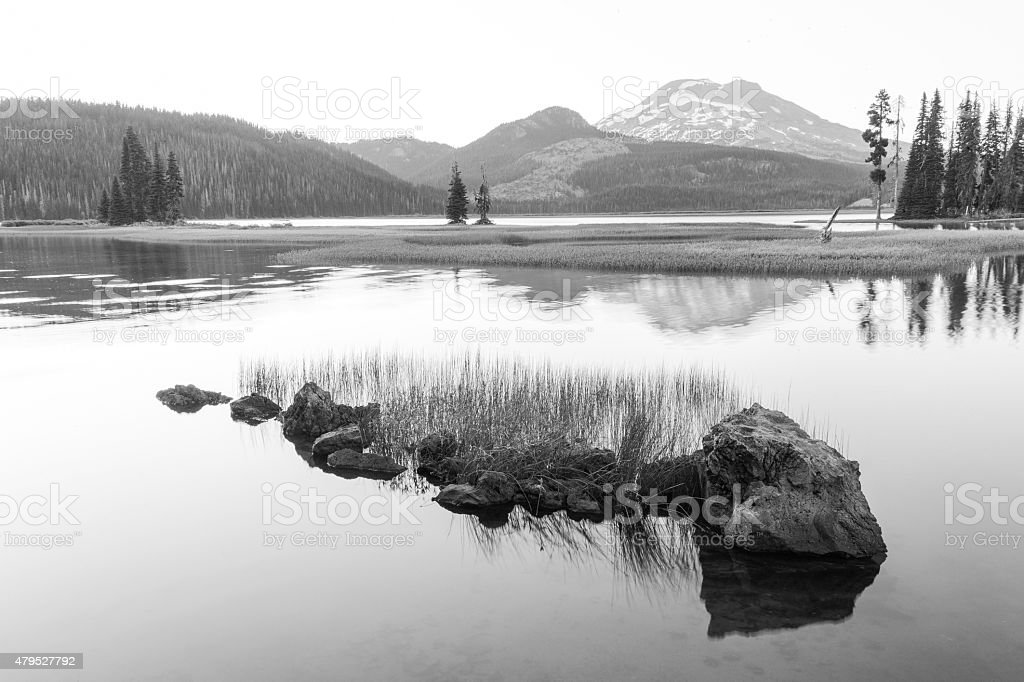 Scenic Sparks Lake stock photo
