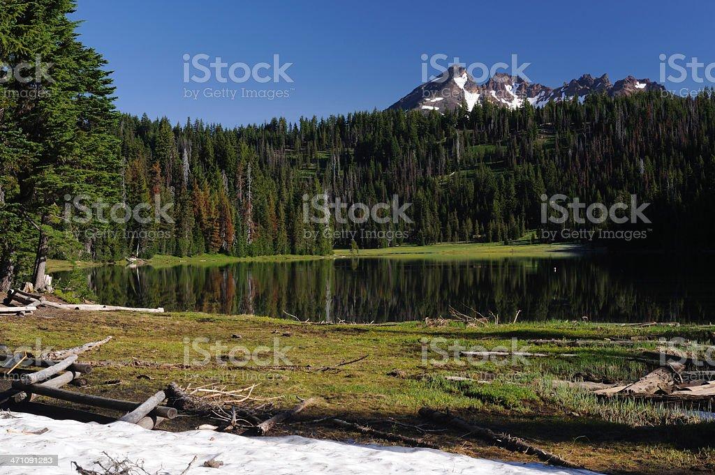 Scenic Todd Lake stock photo
