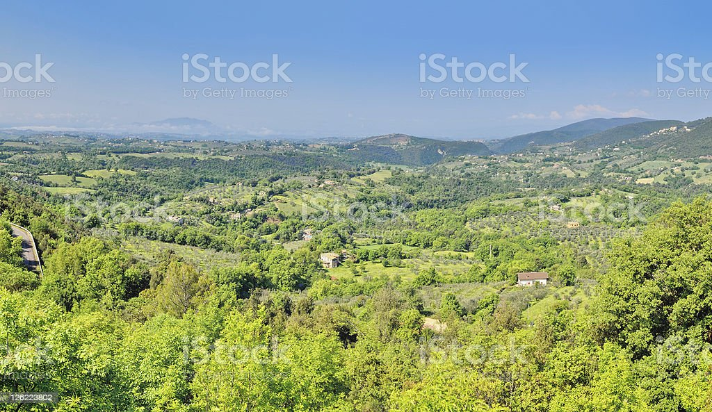 Scenic Valley royalty-free stock photo