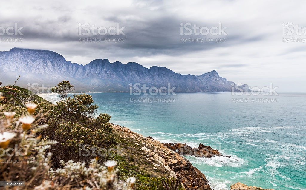 Scenic view Garden Route Sourth Africa stock photo