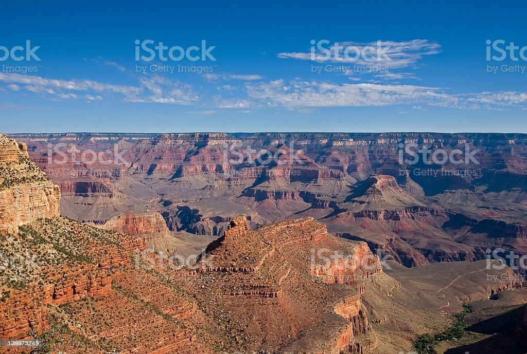 Scenic view of Grand Canyon royalty-free stock photo
