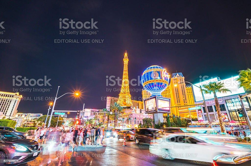 scenic view of Las Vegas cityscape,Las Vegas,Nevada,usa. stock photo