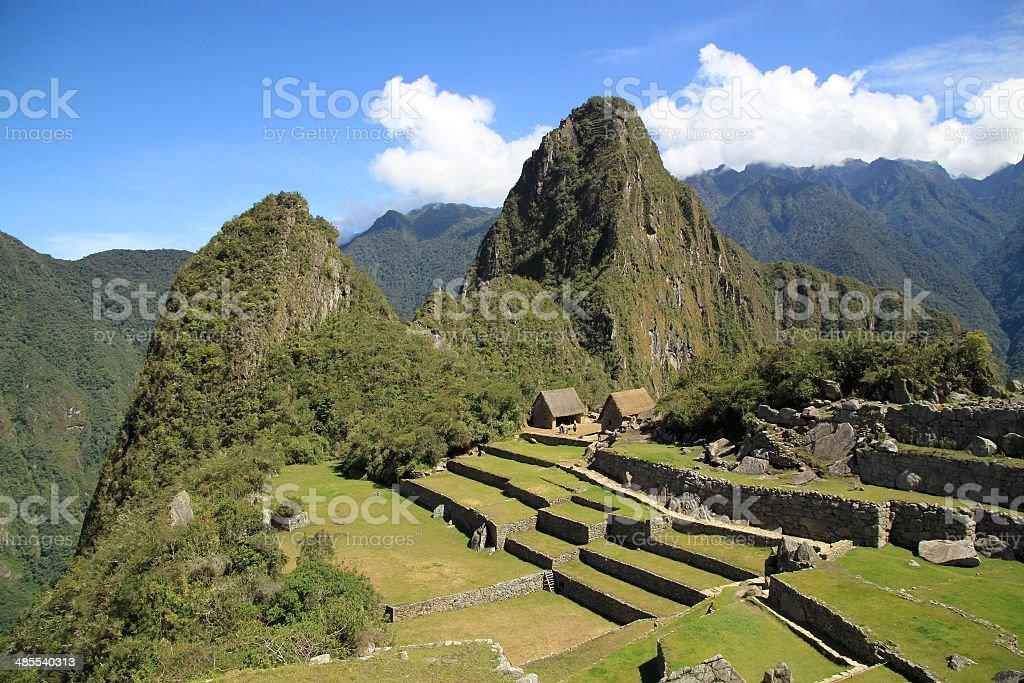 Scenic view of Macchu Picchu, Peru, South America stock photo