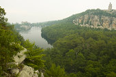 scenic view of mohonk mountain house