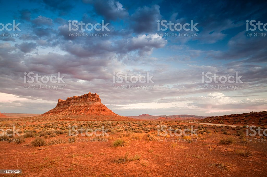 Scenic view Valley of the Gods royalty-free stock photo