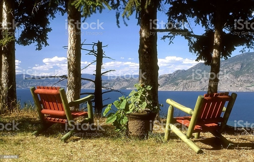 scenic viewpoint royalty-free stock photo