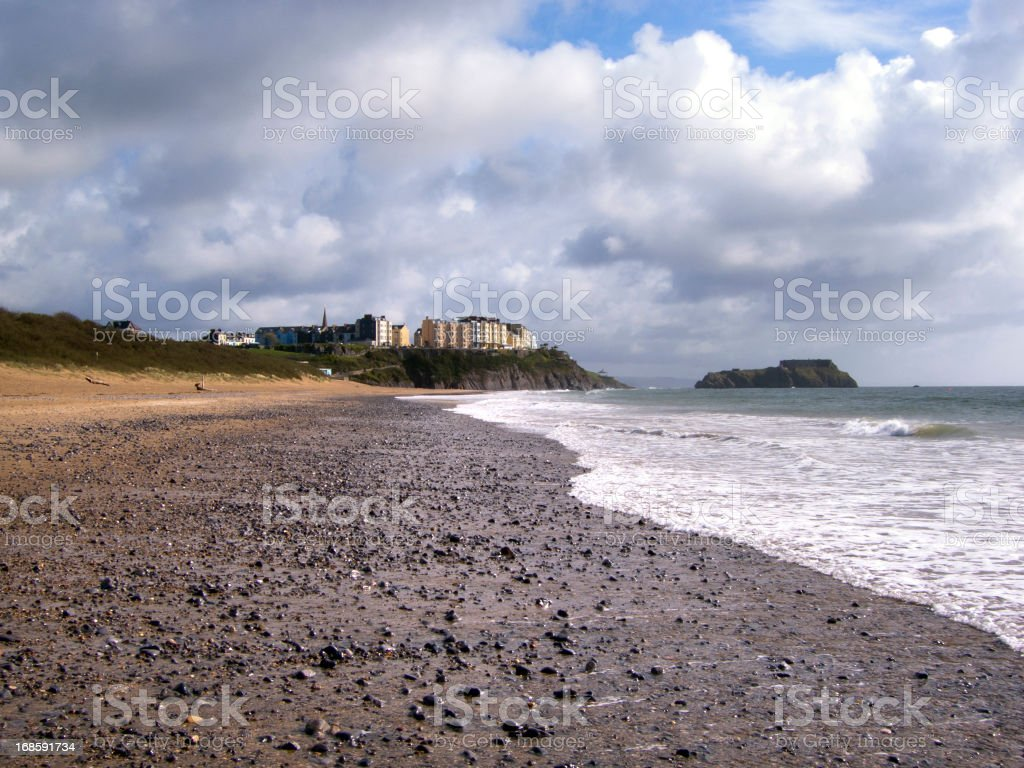 Scenic West Wales - Tenby stock photo
