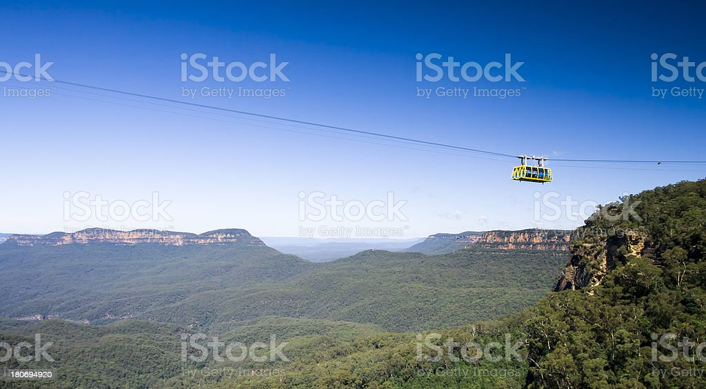 Scenic World Cableway stock photo