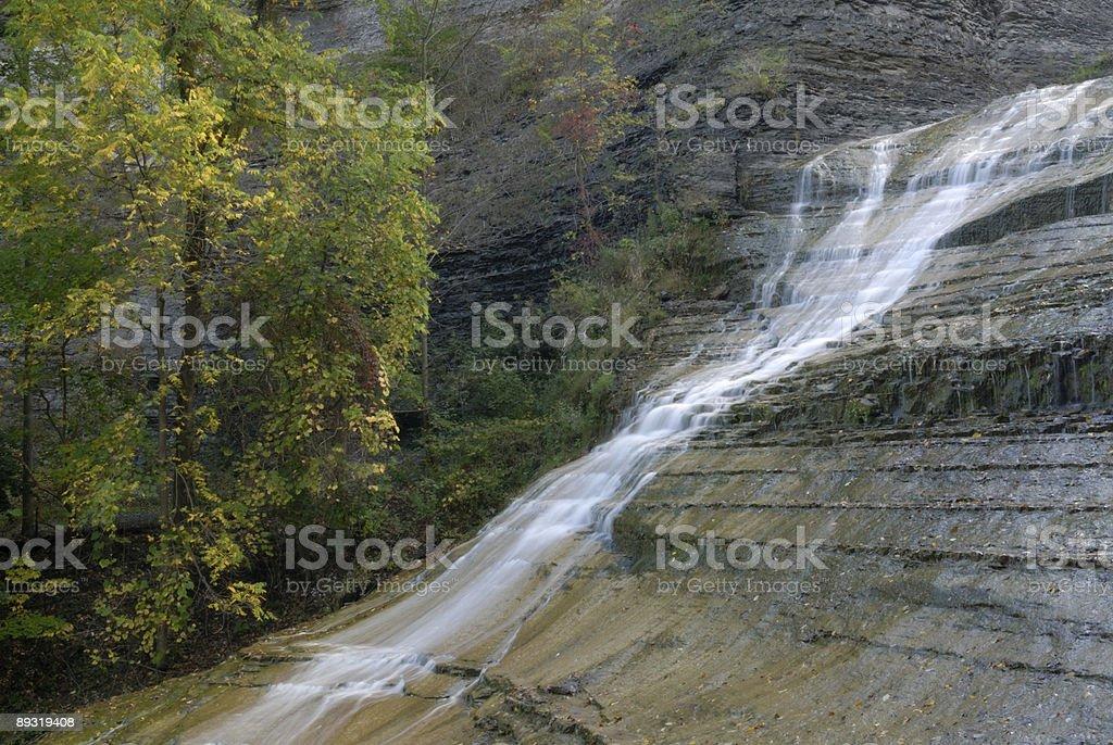 Scenics of Buttermilk Falls State Park stock photo