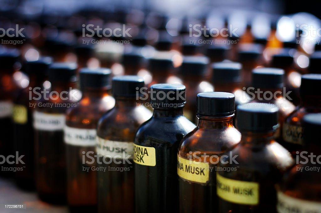Scent Bottles stock photo