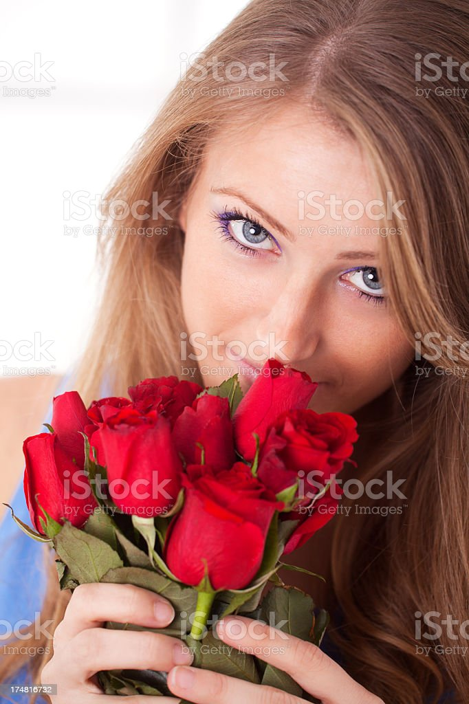 Scent of Roses stock photo