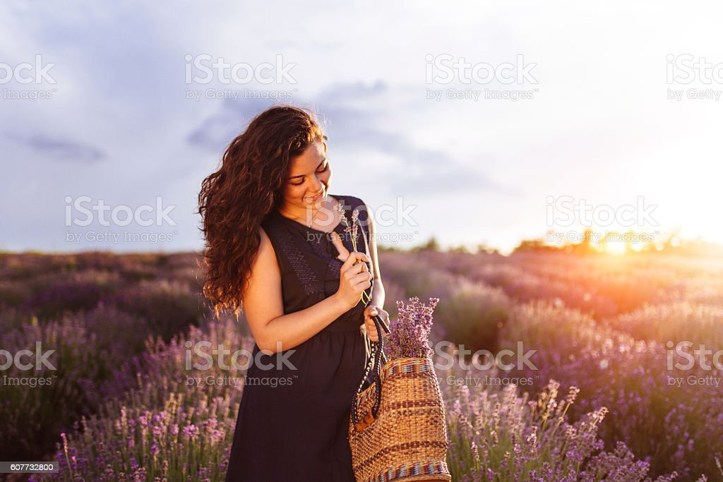 Scent of summer stock photo