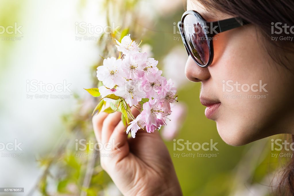Scent of the Spring stock photo