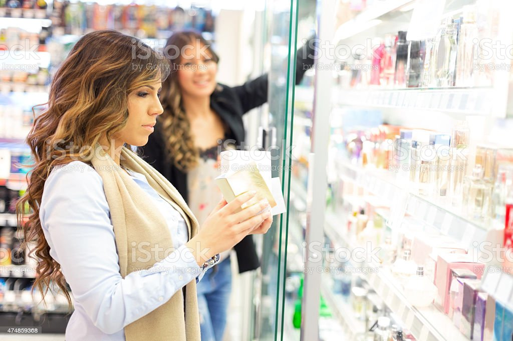 Scent shopping stock photo