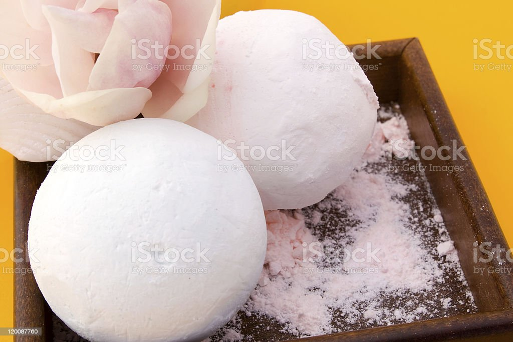 Scented Bath Salts royalty-free stock photo