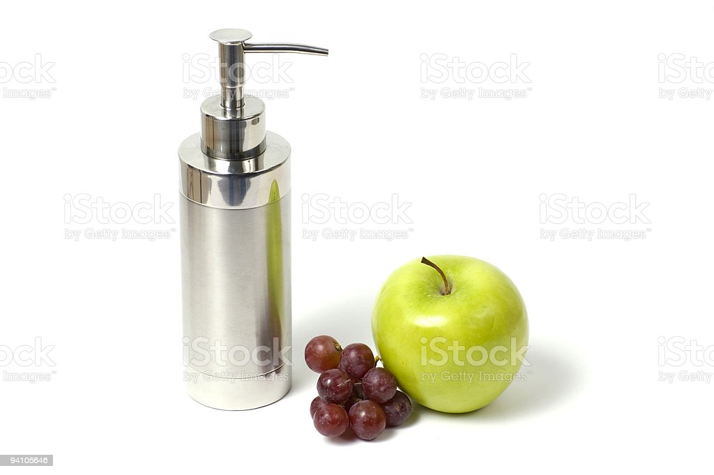 Scented Lotion royalty-free stock photo