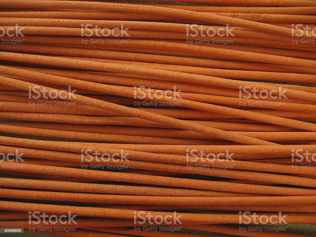 scented orange sticks royalty-free stock photo