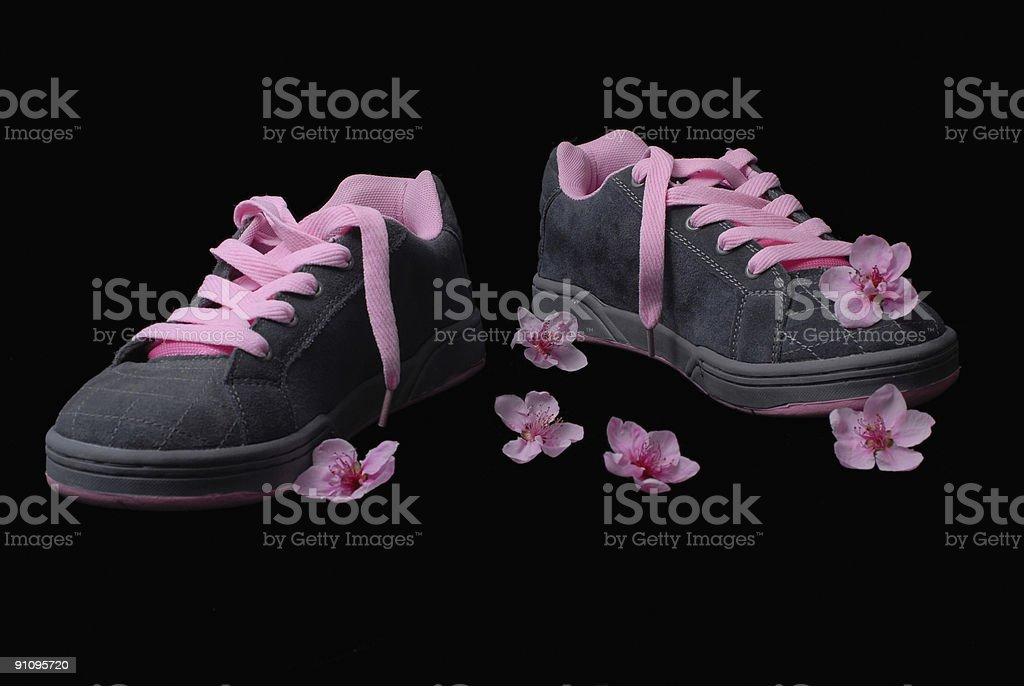 scented sneakers royalty-free stock photo
