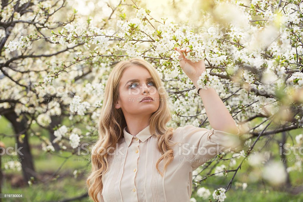 Scents Of Spring stock photo