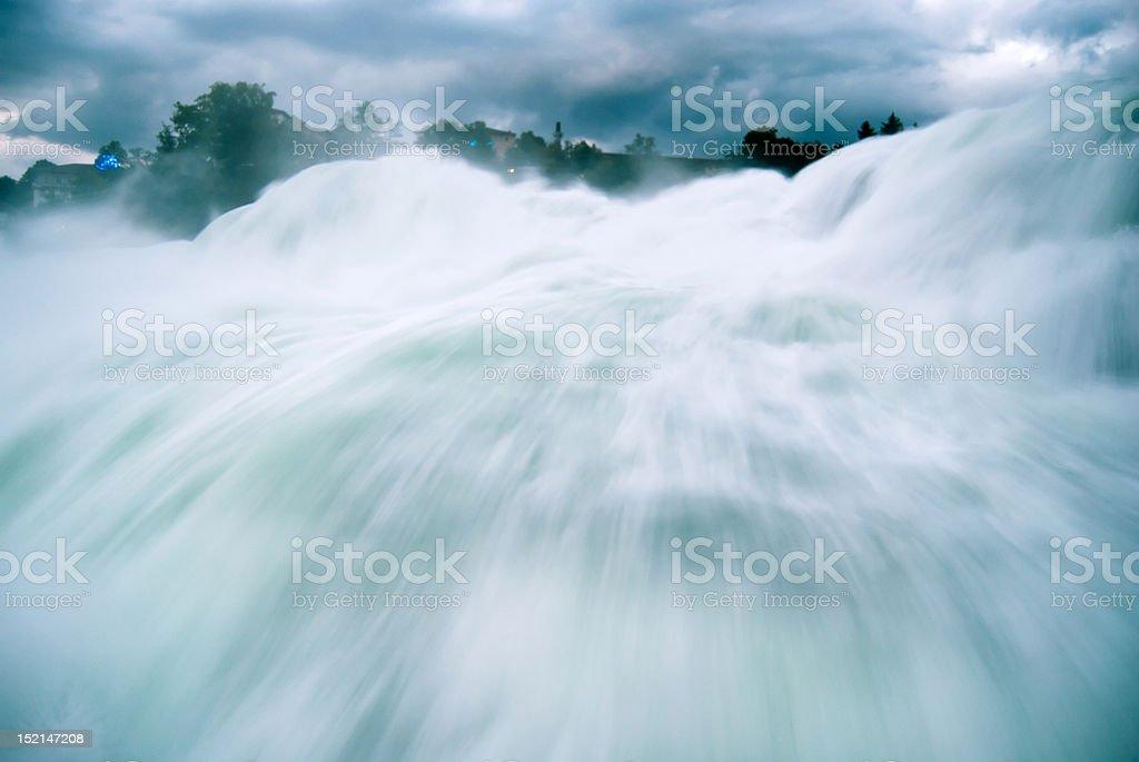 Schaffhausen - Europe's largest waterfall royalty-free stock photo